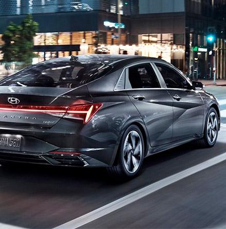 2021 Hyundai Elantra Rear Spoiler