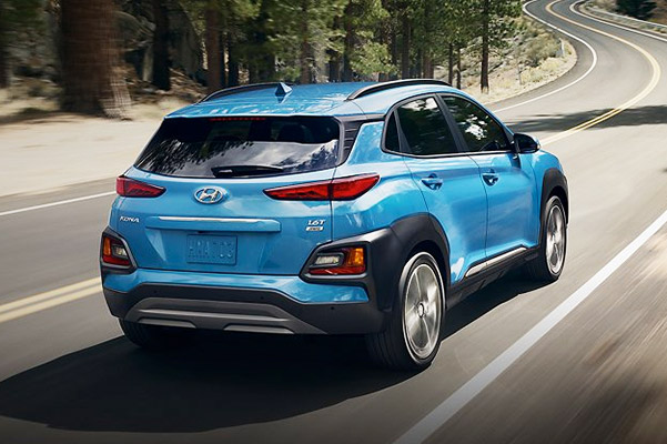 2021 Kona Ultimate in Surf Blue driving
