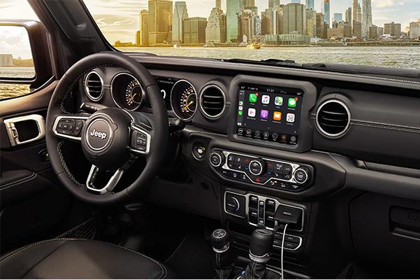 2021 Jeep Gladiator interior dashboard