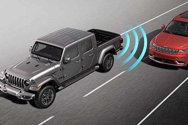 2021 Jeep Gladiator Blind Spot Detection