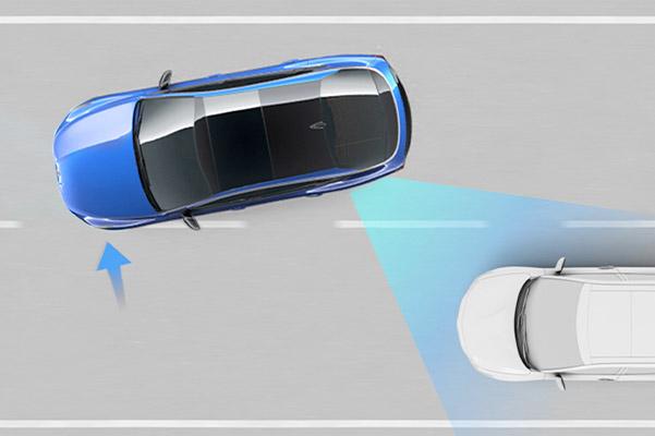 Blind-Spot Collision-Avoidance Assist-Rear