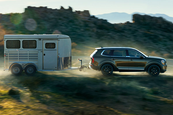 Kia Telluride towing capacity. Pulling a trailer.