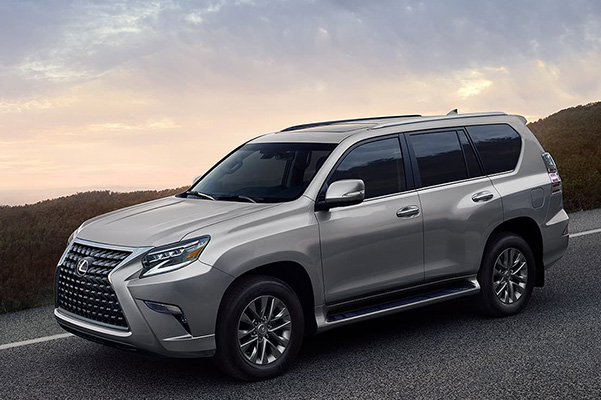 2021 Lexus GX driving on road
