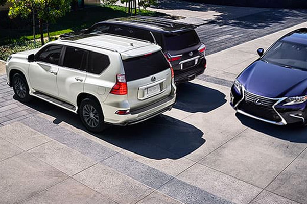 2021 Lexus GX Blind Spot Monitor