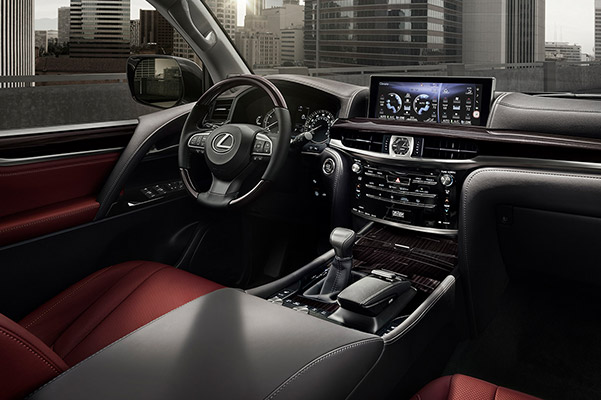 2021 Lexus LX interior technology