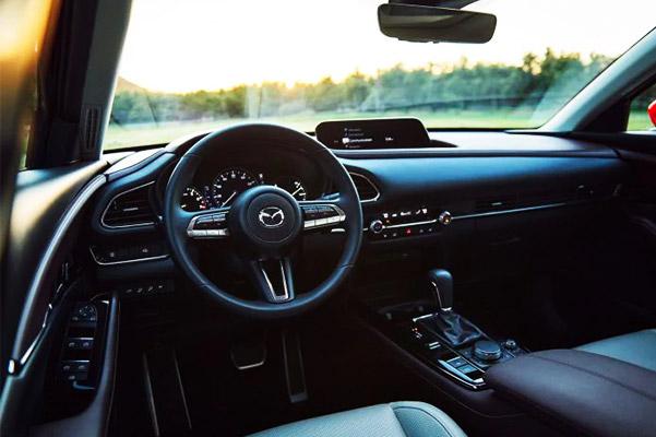 2021 cx-30 interior dashboard