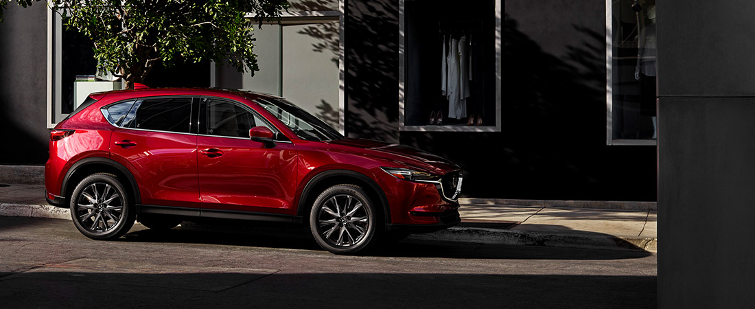 2021 MAZDA CX-5 parked on street