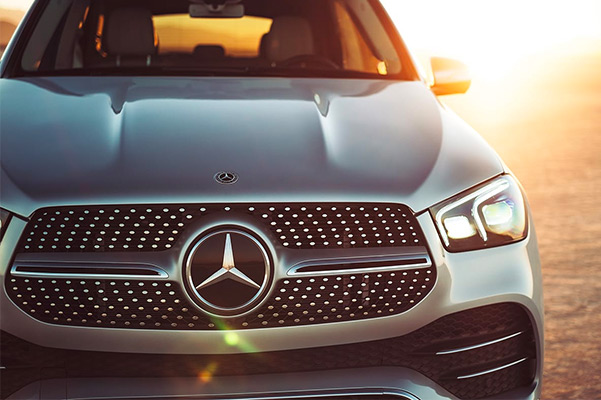 2021 Mercedes-Benz GLE 580 4MATIC in Iridium Silver with Exterior Lighting Package