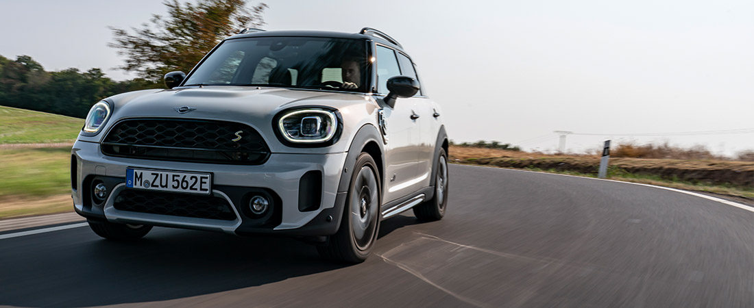 2021 MINI Countryman on road