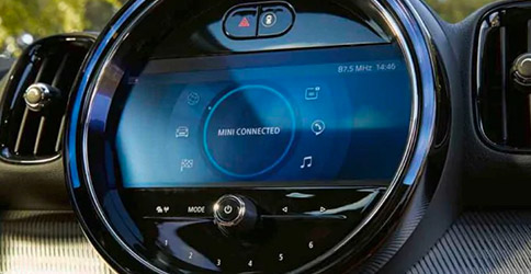 2021 MINI Countryman HUD