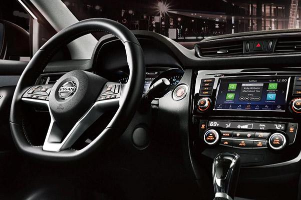 Nissan Rogue Sport D-shaped Steering Wheel