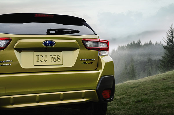 2021 Subaru Crosstrek Sport rear view