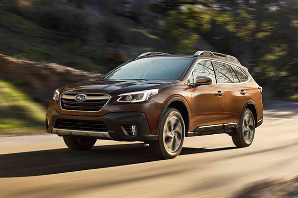 2021 Subaru Outback in motion