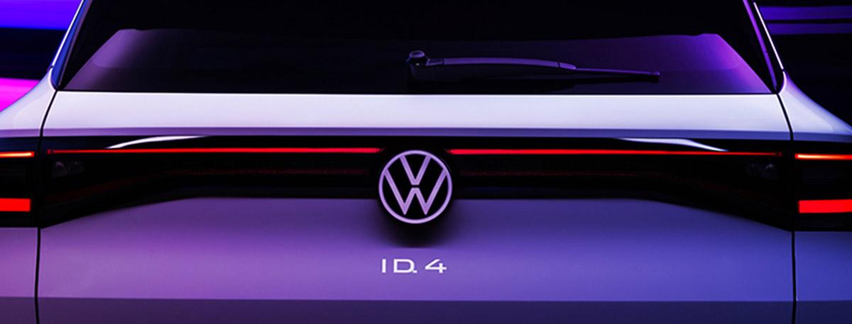 2021 Volkswagen ID.4 rear tailgate