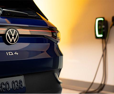 2021 Volkswagen ID.4 charging station