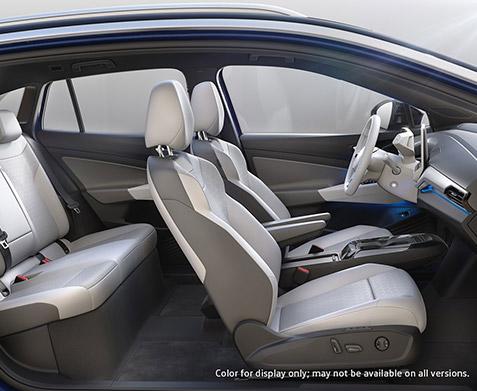 2021 Volkswagen ID.4 interior cutaway