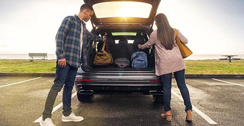 2021 Volkswagen Tiguan cargo space