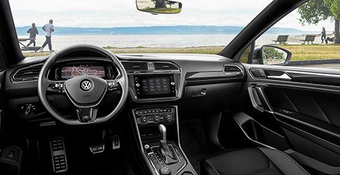 2021 Volkswagen Tiguan interior technology