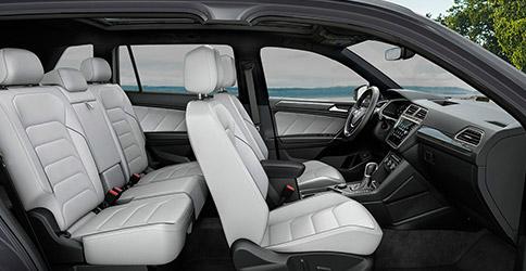 2021 Volkswagen Tiguan interior side view