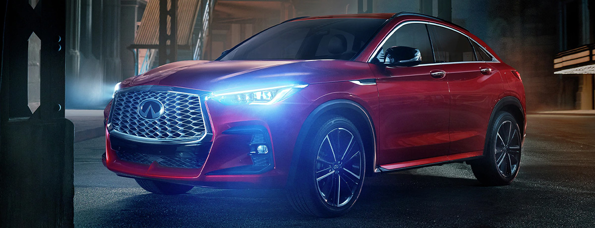2022 INFINITI QX55 | Exterior Side Profile View