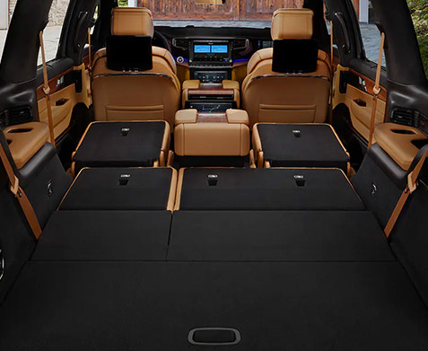 2022 Jeep Grand Wagoneer interior cargo space