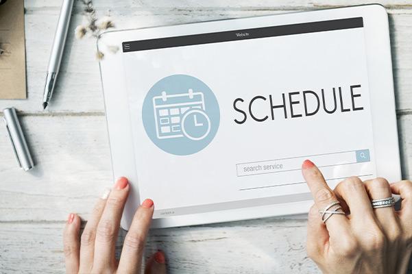 Schedule Appointment Agenda Planner