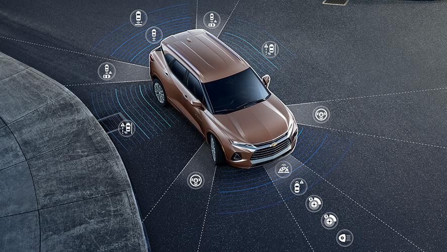 2019 Chevrolet Blazer Safety Features