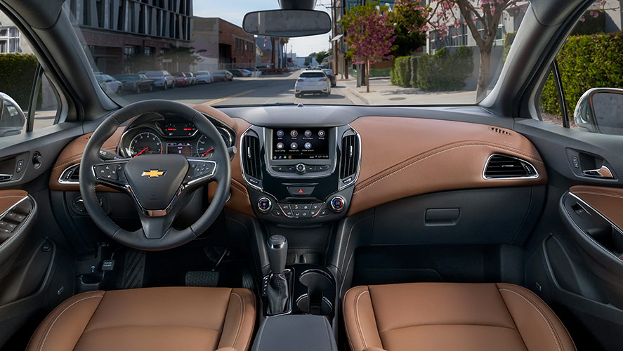 2019 Chevrolet Cruze Interior Amenities
