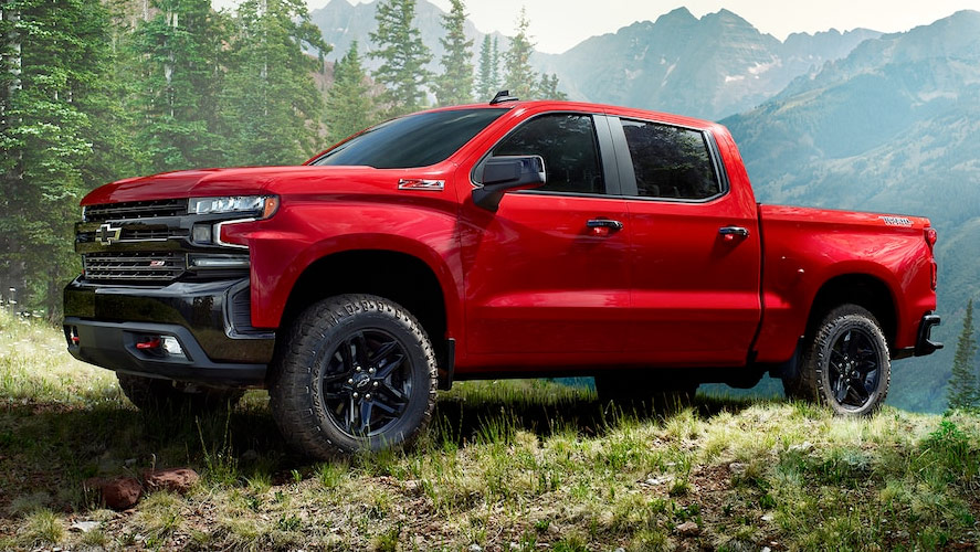 New 2019 Chevy Silverado 1500 Engine Options
